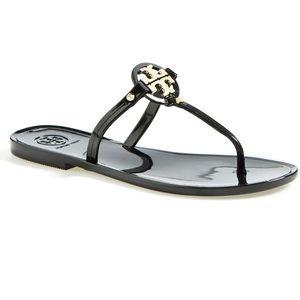 Tory Burch Black Mini Miller Sandal SIZE 7